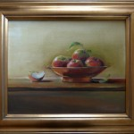 Apples in Copper Bowl, SOLD