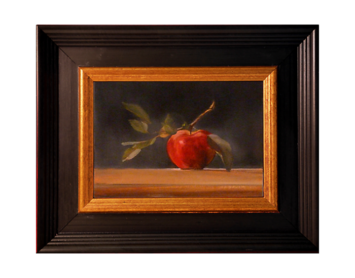 Painting Of Apple