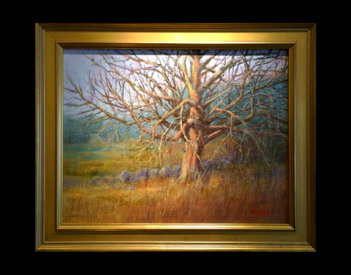 Painting Maple Tree