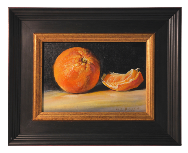 Painting Of Orange