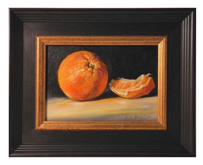 Painting Of Orange